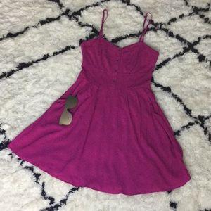 Express Fuscia Summer Dress